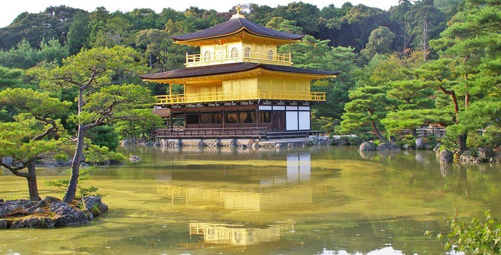 Raggiungerete poi Kyoto