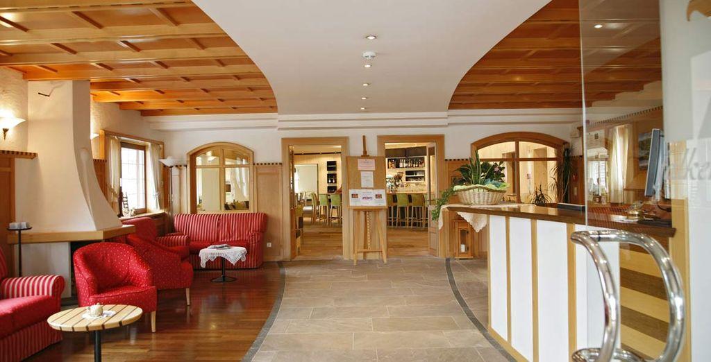 vi accoglie il Falkensteiner Hotel & Spa Sonnenparadies 4*