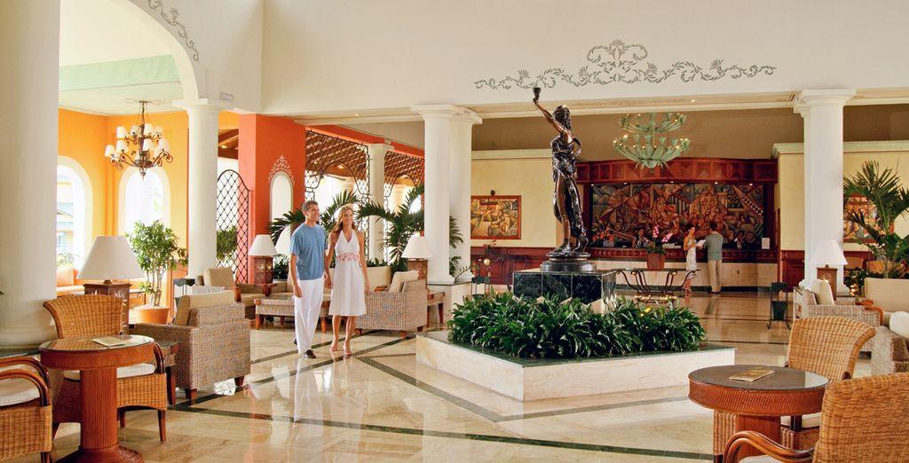 Ambienti ospitali e moderni vi attendono