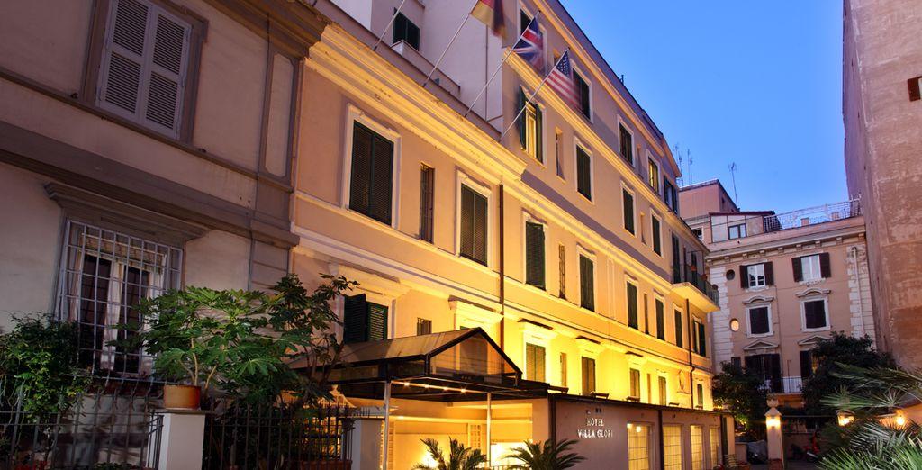 L'Hotel Villa Glori vi attende