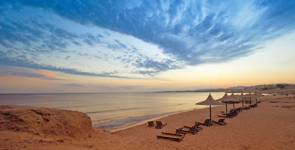 Benvenuti al caldo sole di Sharm El Sheikh