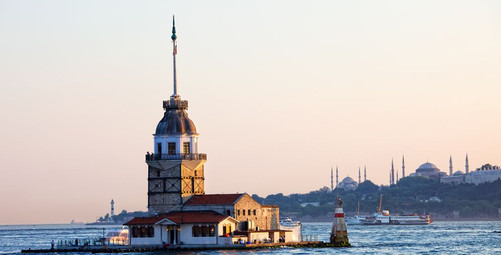 La Torre della Fanciulla ad Istanbul