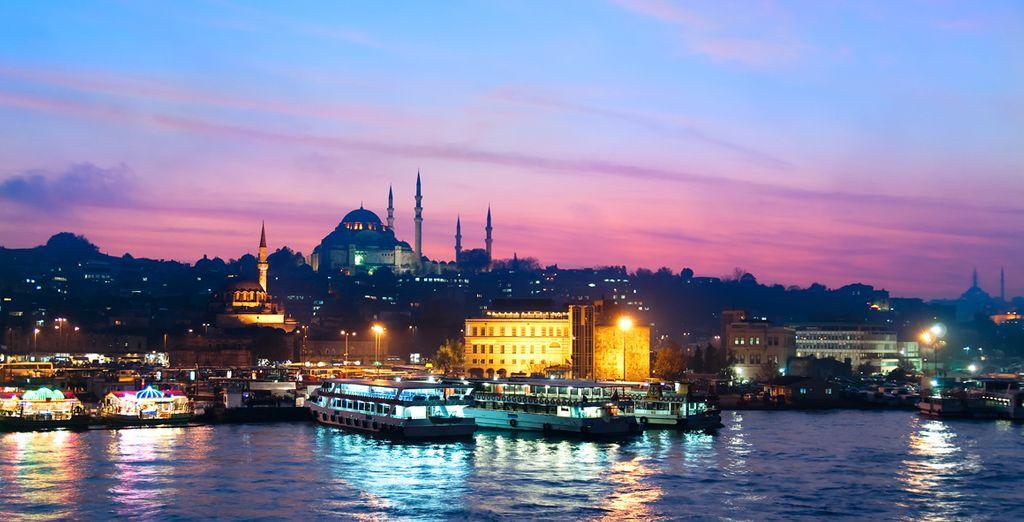 Visitate Istanbul, città dal fascino romantico e orientale