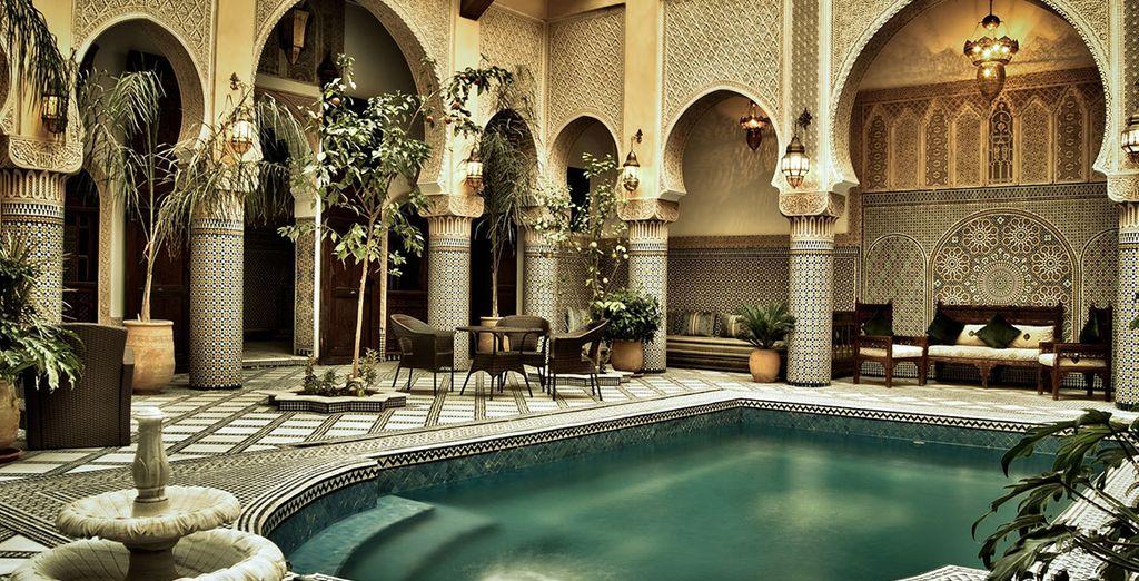 Scoprite un elegante Riad