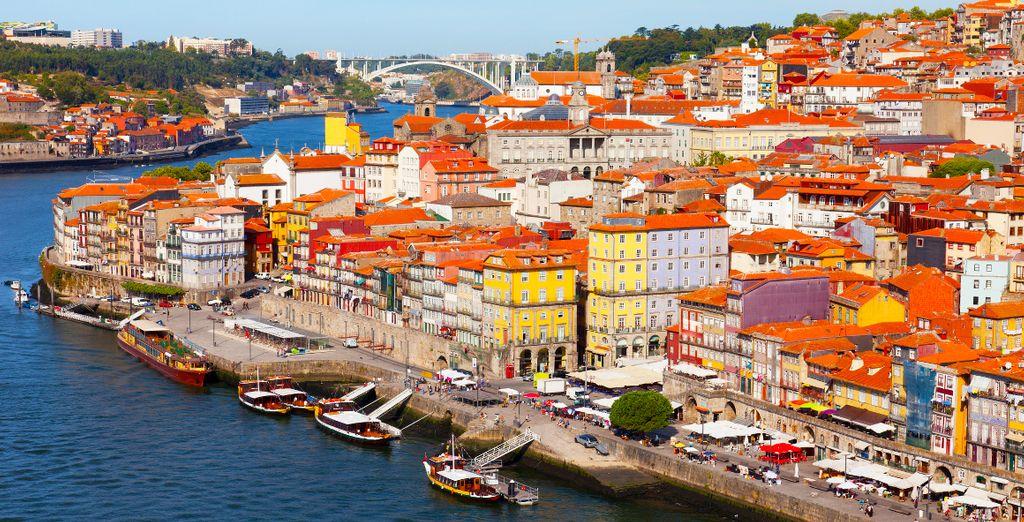 Partite per Porto, pittoresca città del Portogallo