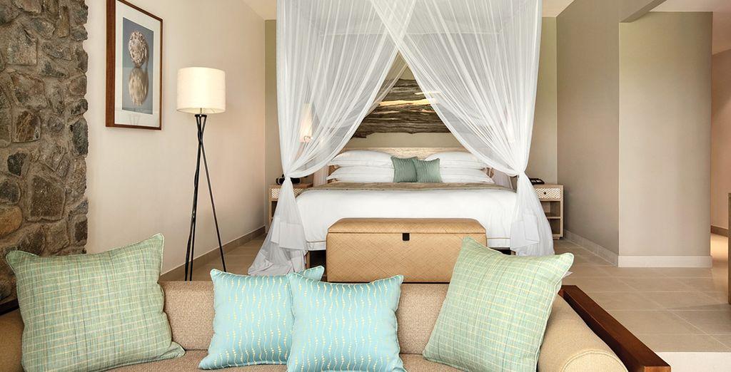 Soggiornerete nella vostra confortevole camera