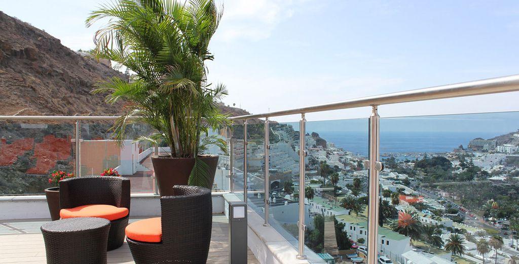 Meravigliosi panorami faranno da cornice alla vostra vacanza