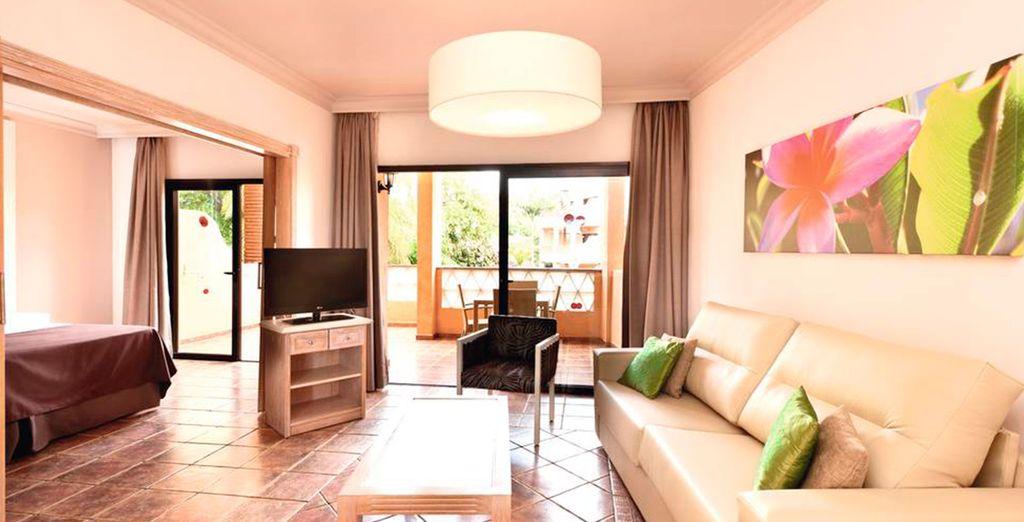 Gli appartamenti sono stati progettati per offrirvi stile e comfort