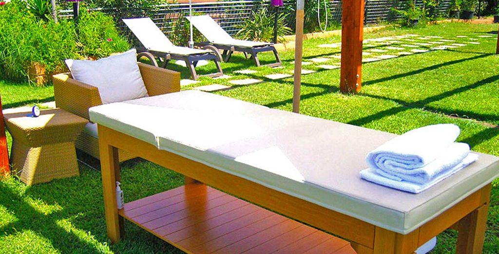 Scegliete tra massaggi rilassanti o trattementi di bellezza