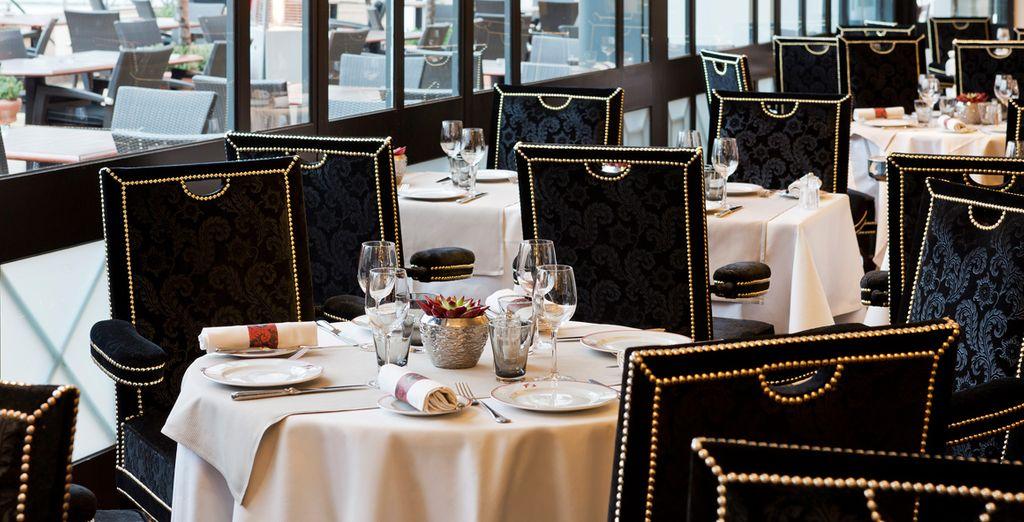 Gustate le specialità del Ristorante Fouquet's Cannes