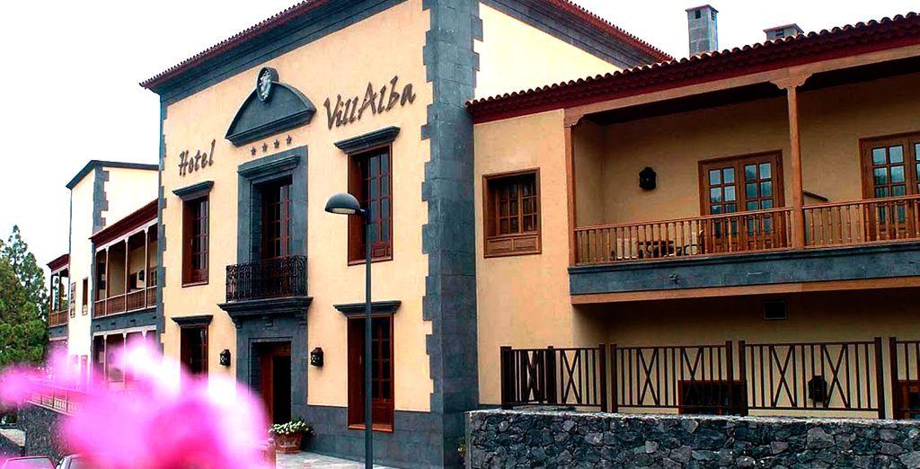 L'Hotel SPA Villalba vi apre le sue porte