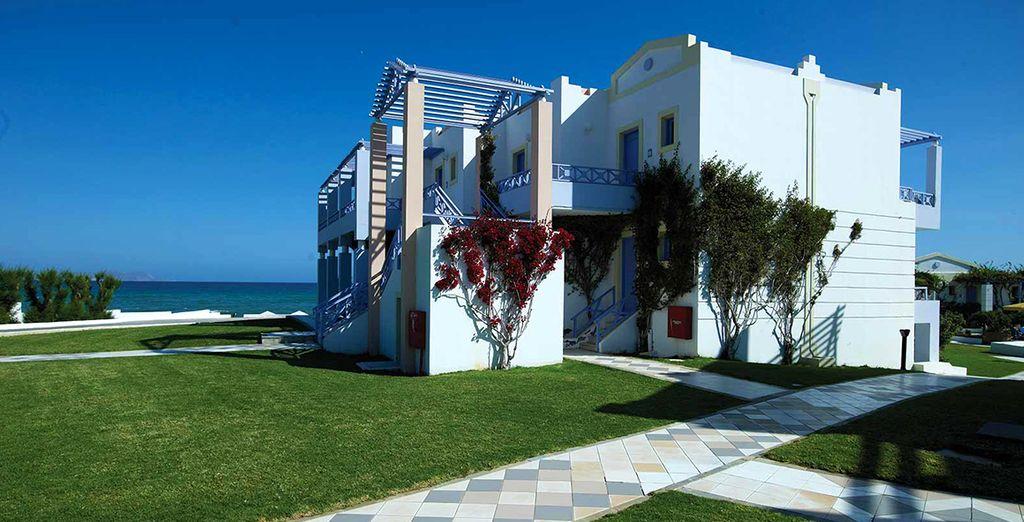 Una moderna struttura 5* affacciata sulla spiaggia