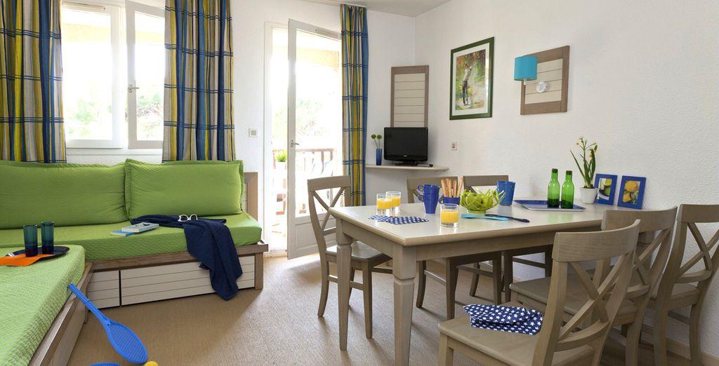 Il vostro appartamento moderno e confortevole