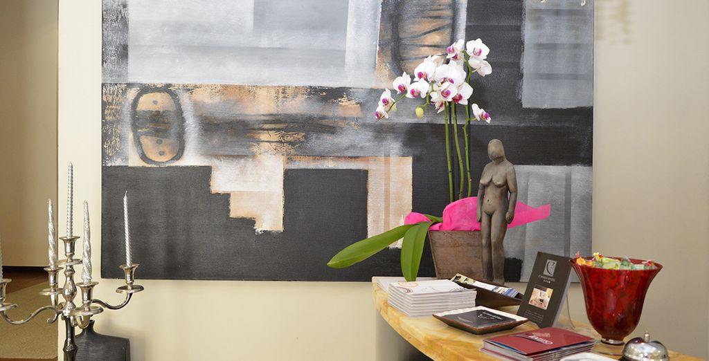 L'hotel Cassisi vi attende con i suoi ambienti moderni