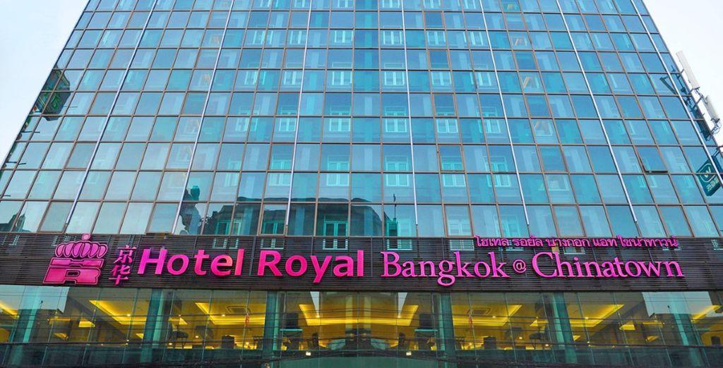 Soggiornerete presso l'Hotel Royal Bangkok @Chinatown