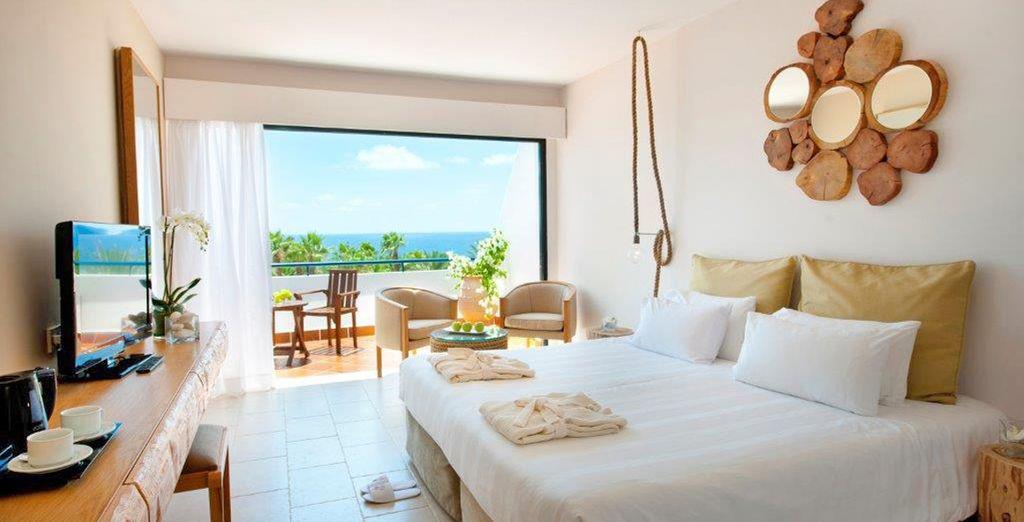 La vostra meravigliosa camera con vista mare