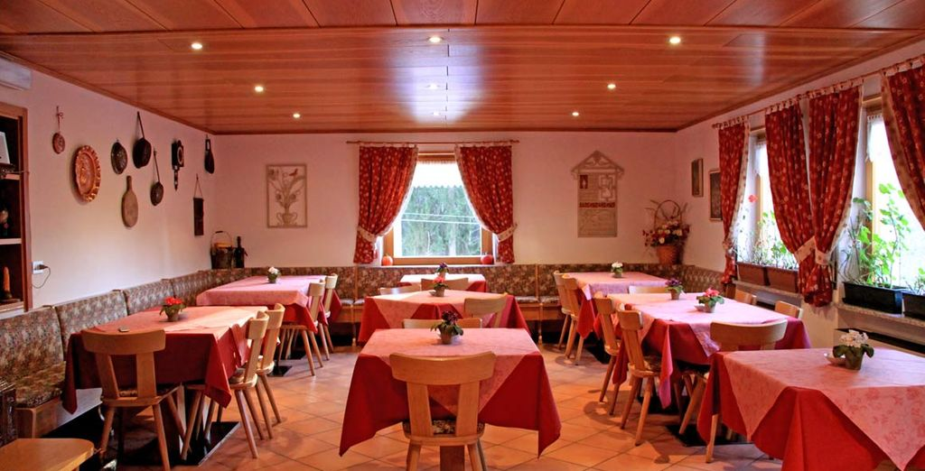 Un hotel tipico e tradizionale