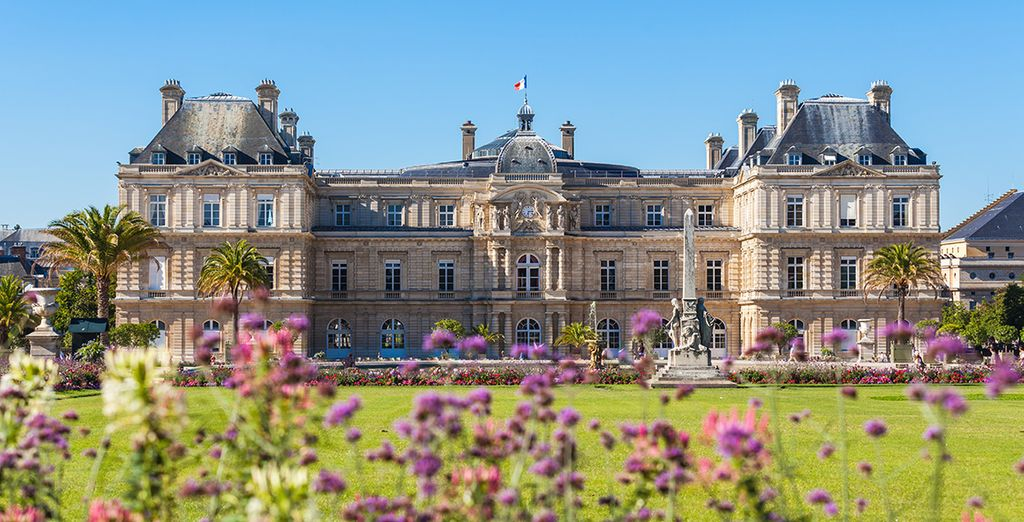 Potrete visitare il palais du luxembourg