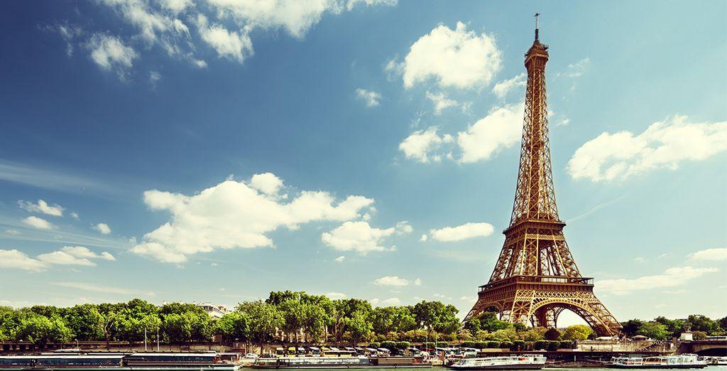 poco lontano troverete la Tour Eiffel