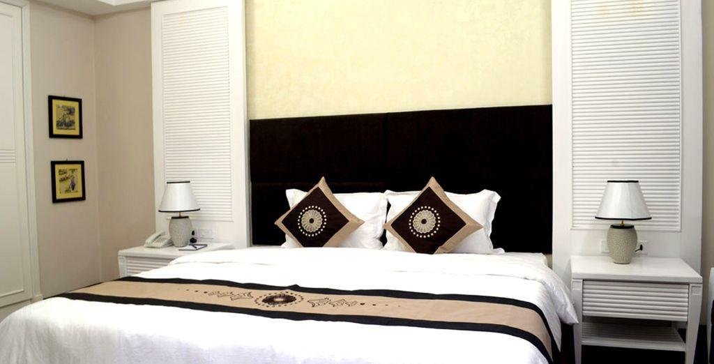 A Hue, nel Moonlight Hotel 4* alloggerete in eleganti camere