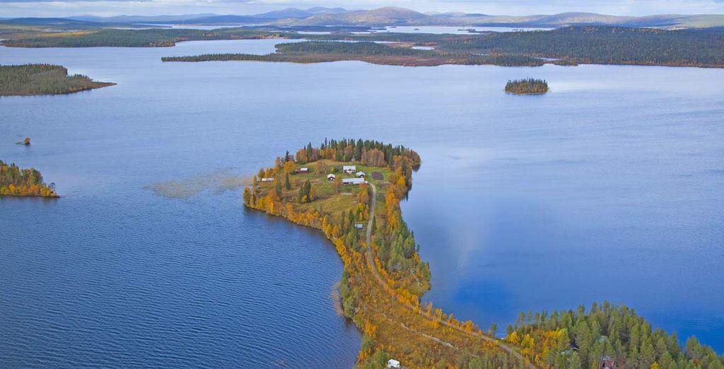Che sorge sul Lago di Inari