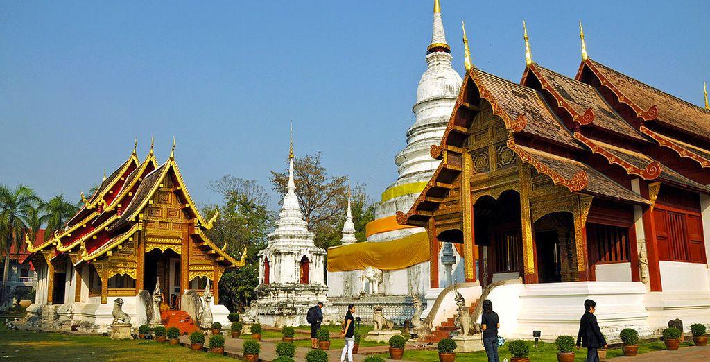 Ammirerete lo sfarzo del Chiang Mai Temples