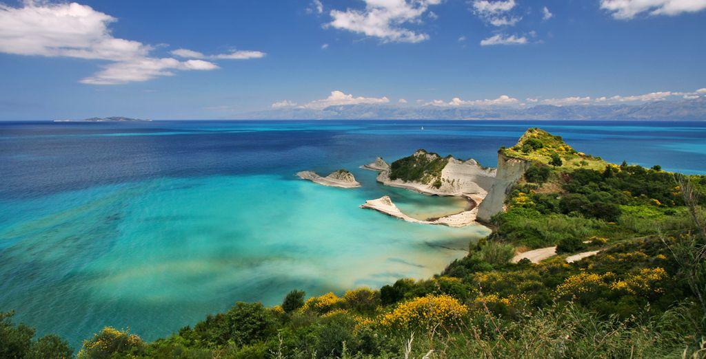 La splendida isola di Corfù vi attende
