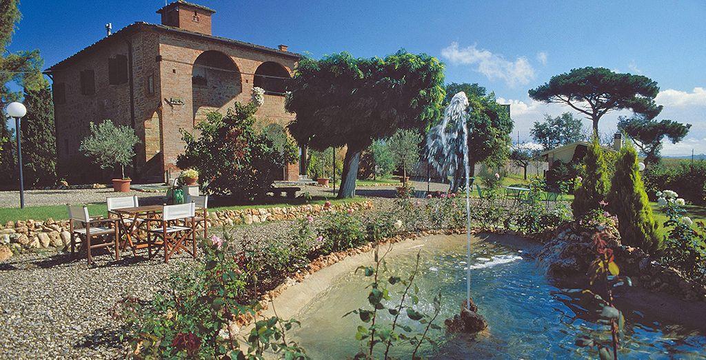 Il Relais Villa Petrischio vi aspetta
