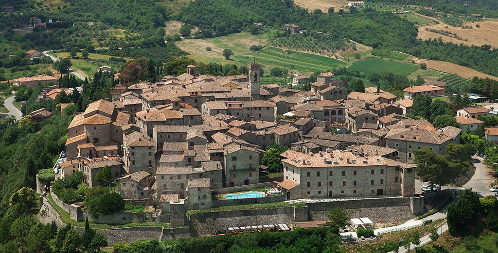 In Umbria la vostra residenza d'epoca vi dà il benvenuto