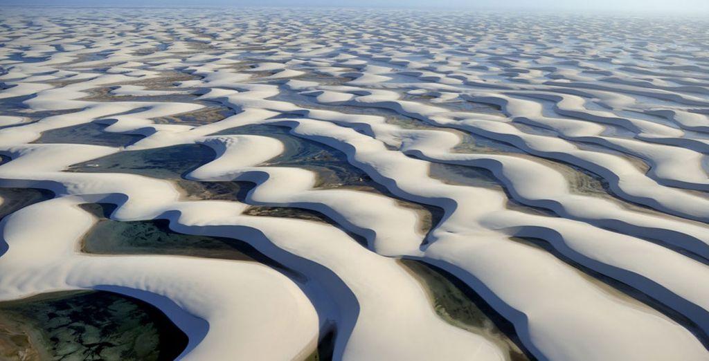 Durante questo viaggio visiterete luoghi come il Deserto di Lençois
