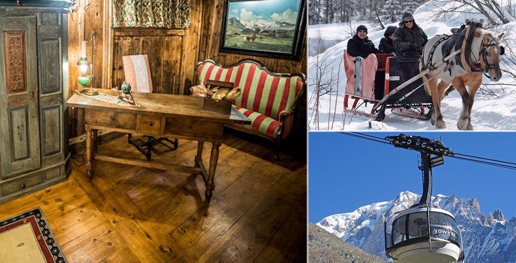 Benvenuti in Valle d'Aosta all'Hotel La Meridiana 4*