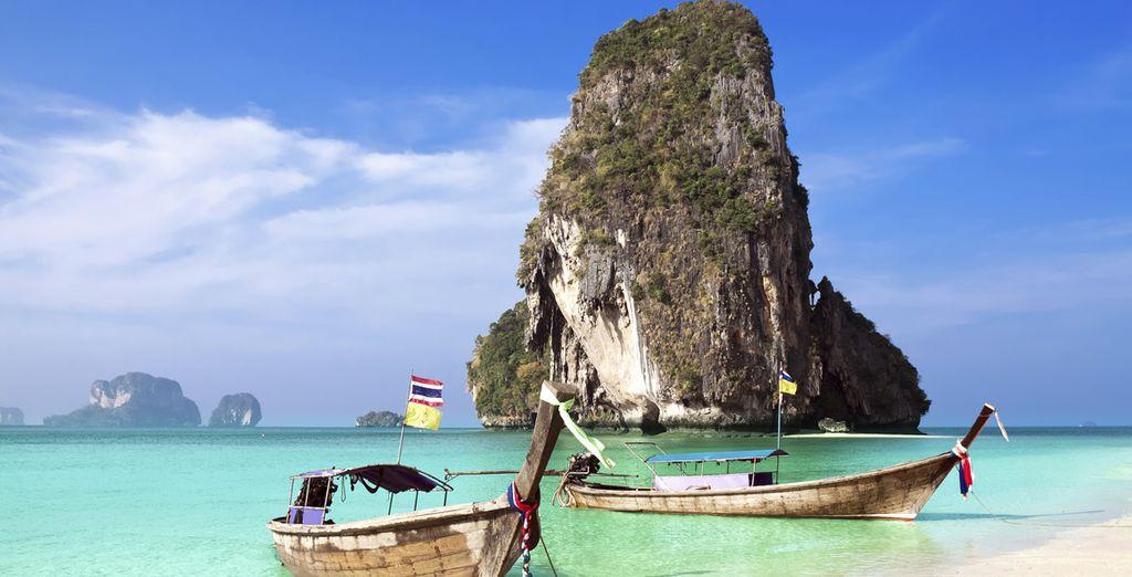 Partite per la Thailandia