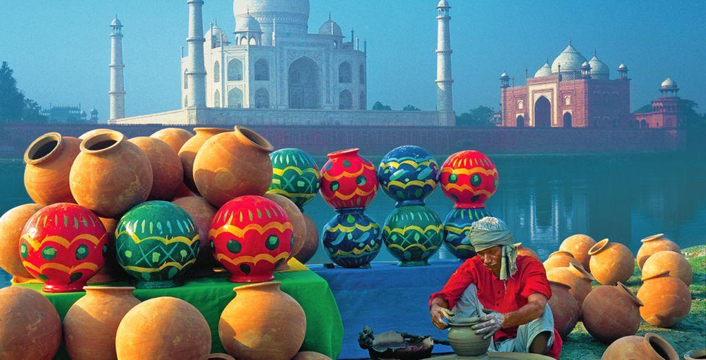 Taj Mahal, il monumento più famoso dell'India