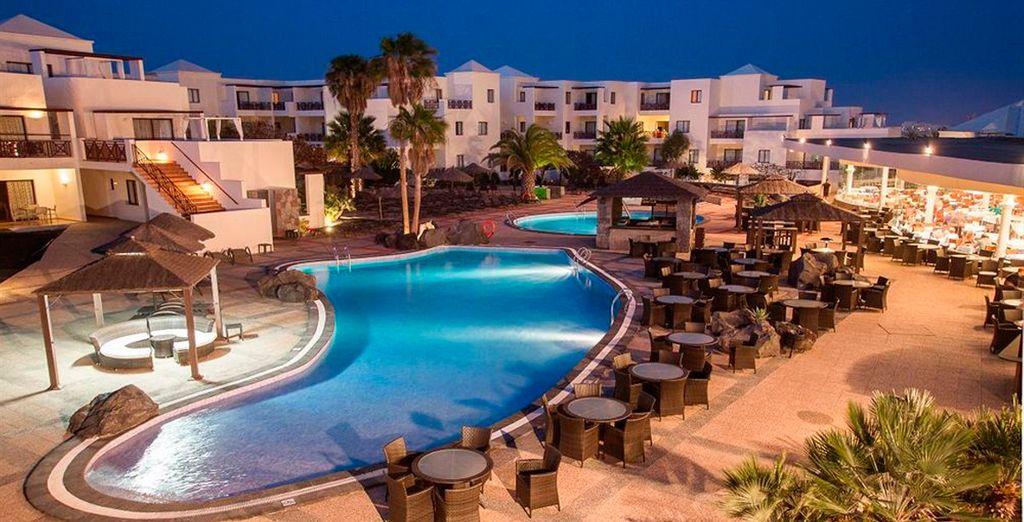In un moderno resort 4*