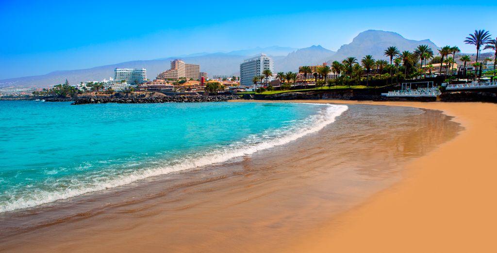 Godetevi la meravigliosa spiaggia di Las Americia a soli 15 minuti dall'hotel