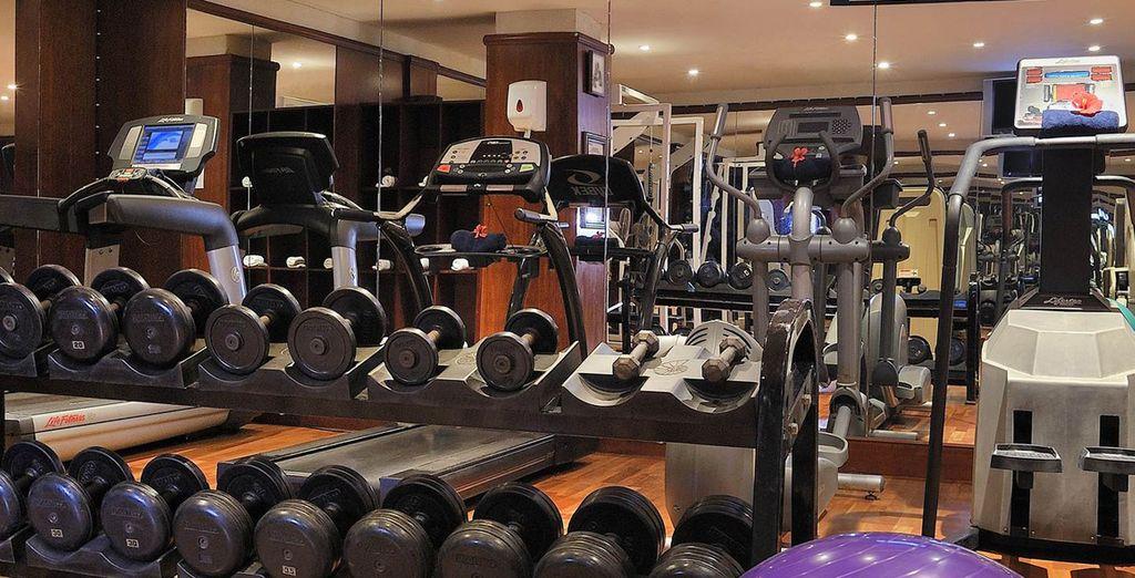 Se volete mantenervi in forma, un'attrezzata palestra sarà il vostro sogno