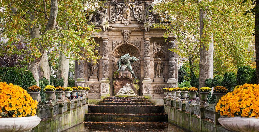 Concedetevi una passeggiata attraverso i giardini di Lussemburgo