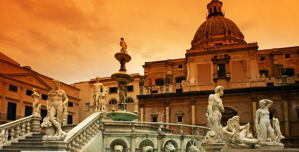 Palermo vi attende in tutta la sua bellezza