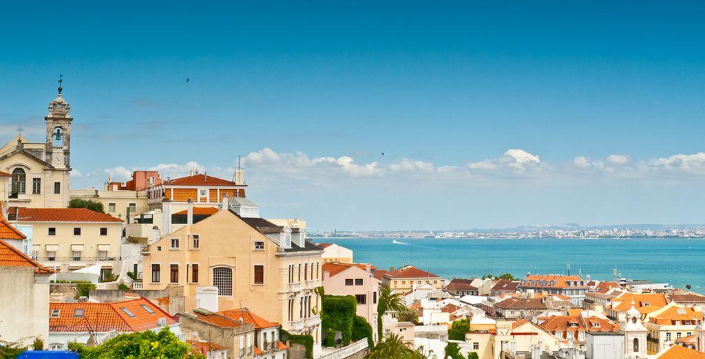 e godetevi lo splendido scenario della capitale portoghese!