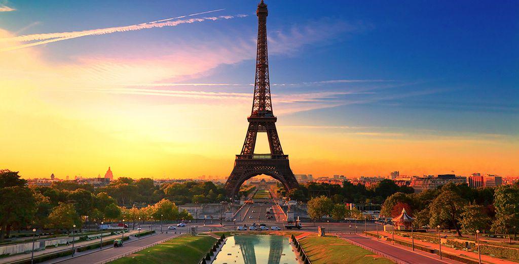 Potrete visitare la Torre Eiffel