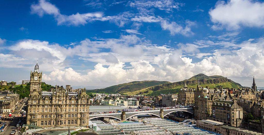 Esplorate la magnifica capitale scozzese