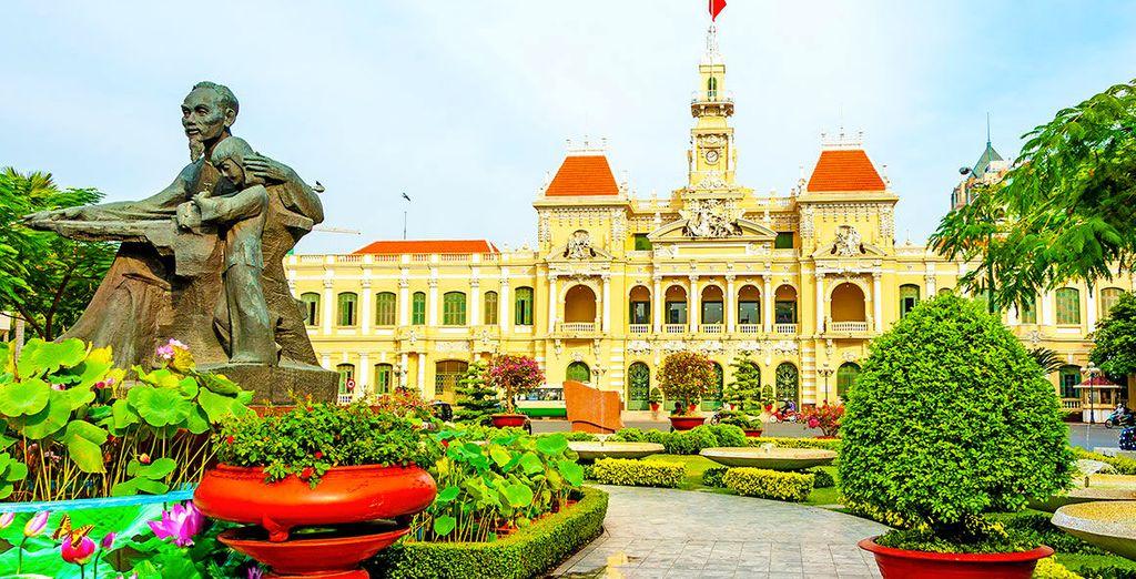 Scoprite Ho Chi Minh, il cuore pulsante del Vietnam