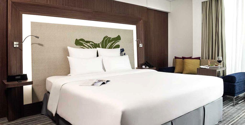 Il Novotel Saigon Centre Hotel di Ho Chi Minh