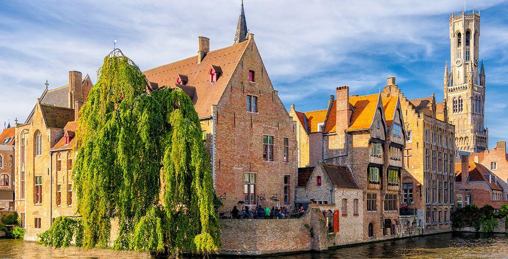 e le vicine attrazioni come il gioiello delle fiandre Bruges.