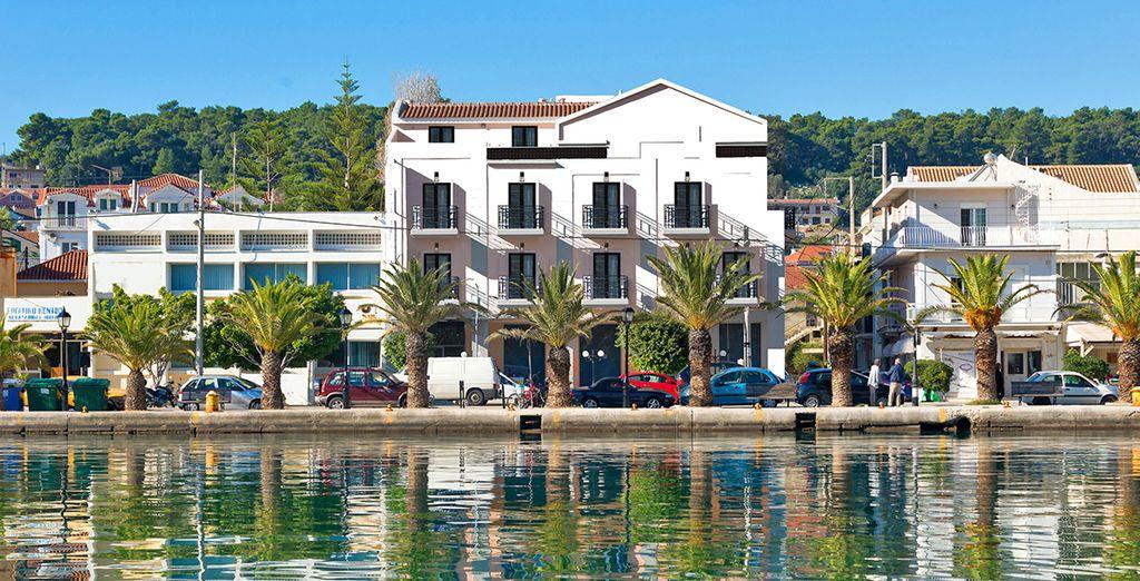 Il Kefalonia Grand Luxury Boutique Hotel è pronto ad accogliervi