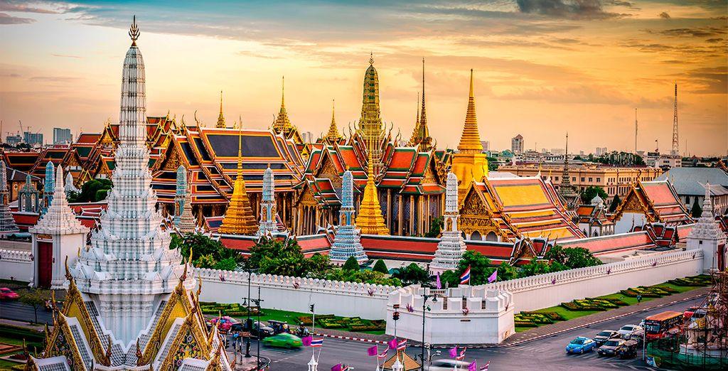 Visiterete le attrazioni più incredibili di Bangkok