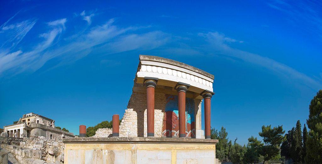 La città di Heraklion è patria di antica storia e cultura