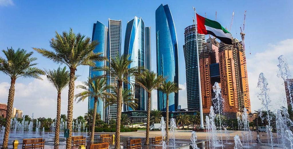Partite per un viaggio incredibile ad Abu Dhabi