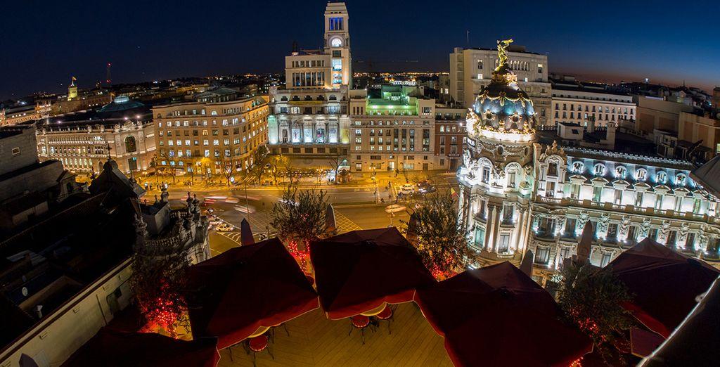 Idealmente situato tra le due strade emblematiche della città: Alcalá e Gran Vía