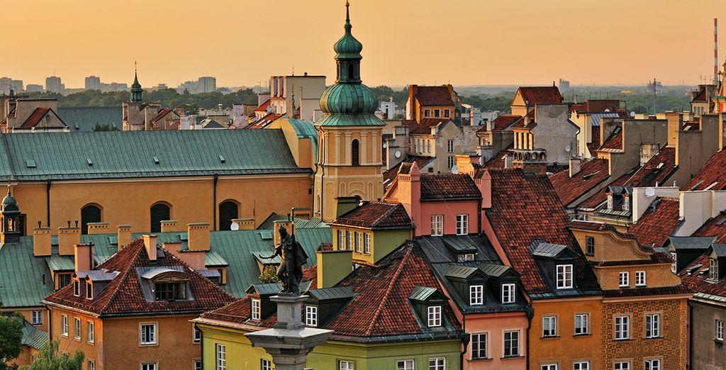 Scoprite il fascino di Varsavia.